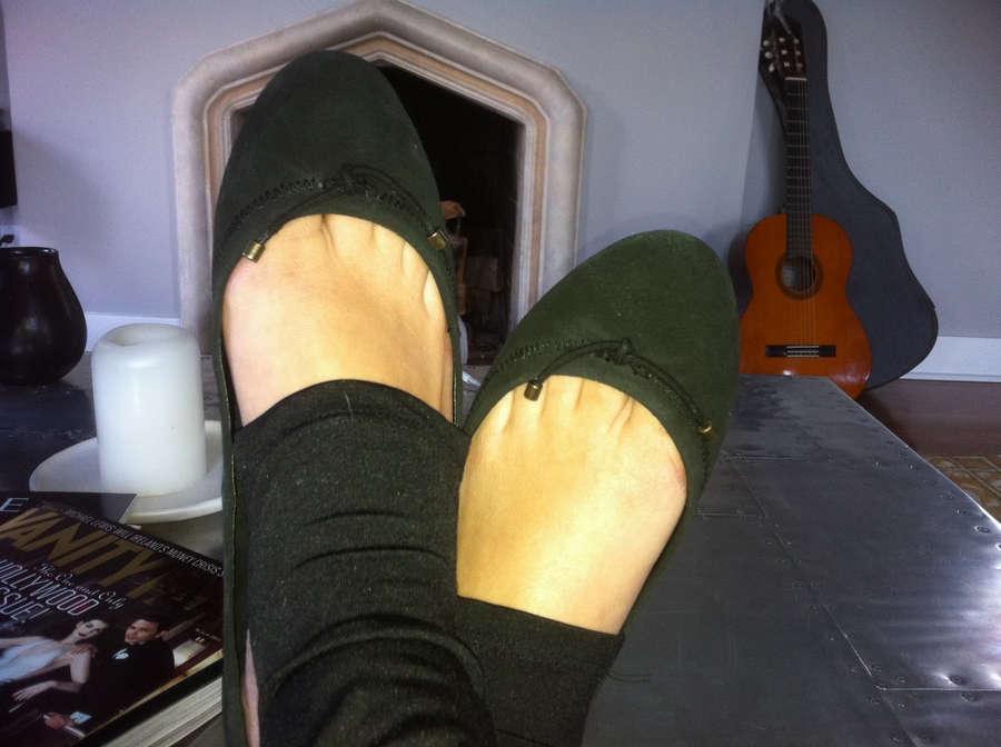 Amelia Jean Alvarez Feet