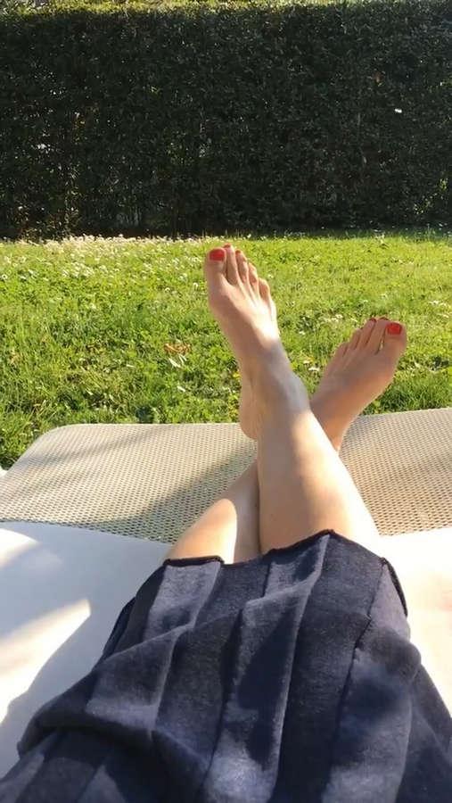 Filippa Lagerback Feet
