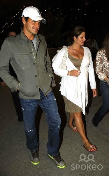 Mirka Federer Feet