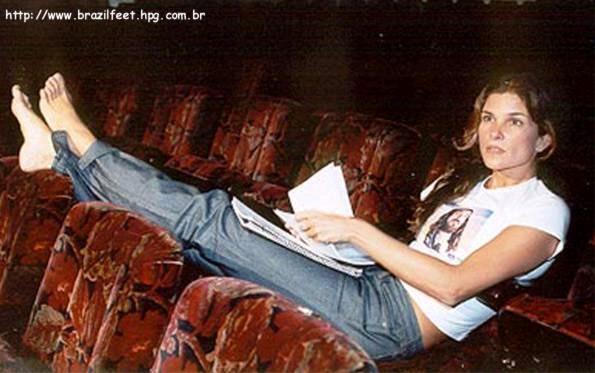 Cristiana Oliveira Feet