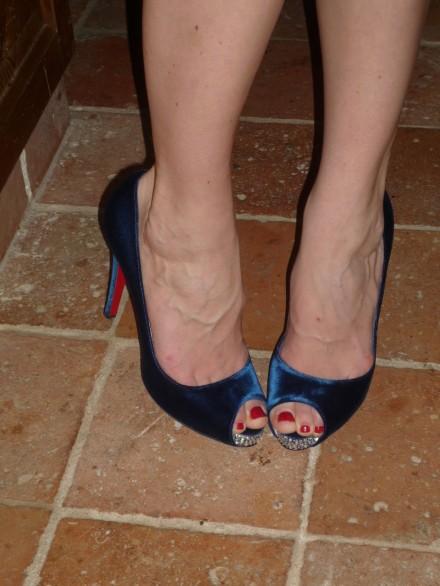 Emilia De Poret Feet