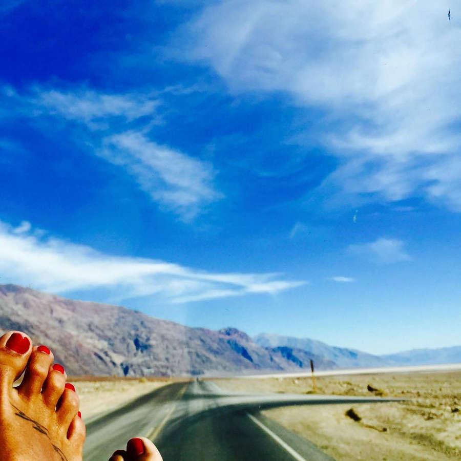 Lara Alvarez Feet
