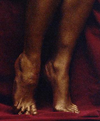 Rachael Stirling Feet