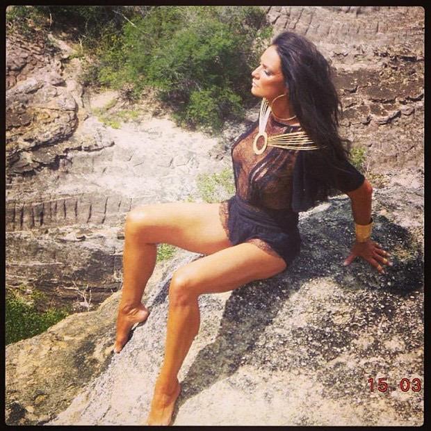 Luiza Brunet Feet