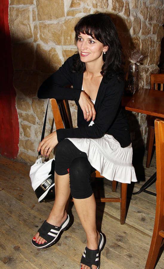 Adela Gondikova Feet
