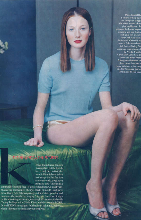Maggie Rizer Feet