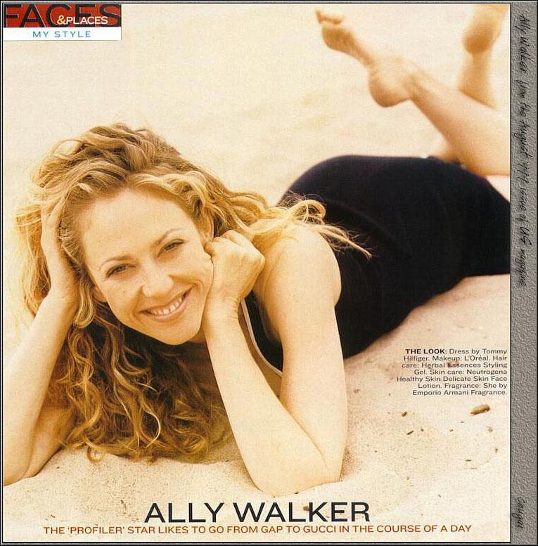 Ally Walker Feet