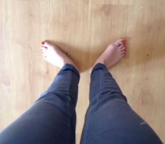 Nili Hadida Feet