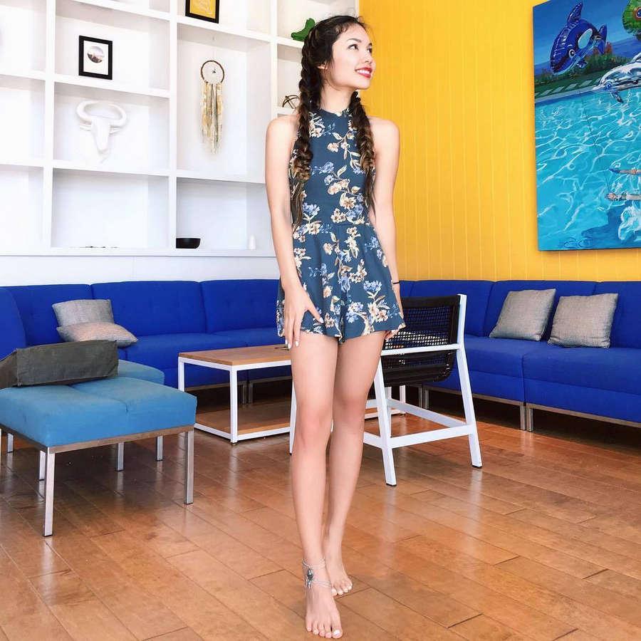 Tiffany Ma Feet