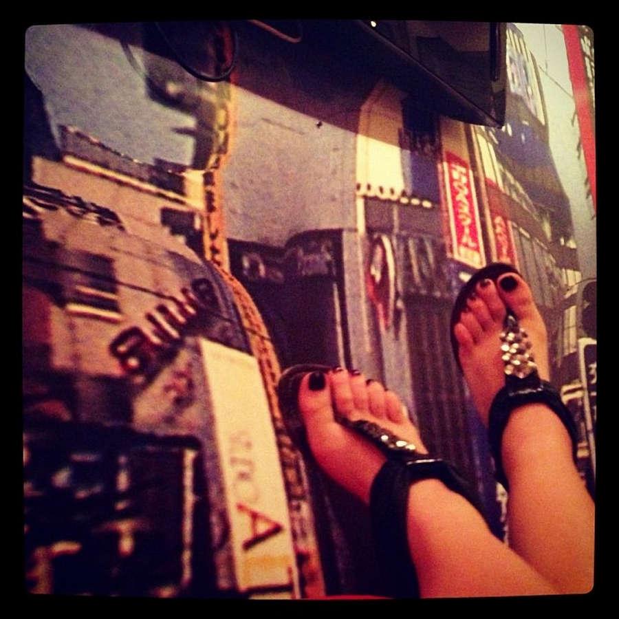 Aleksandra Popova Feet