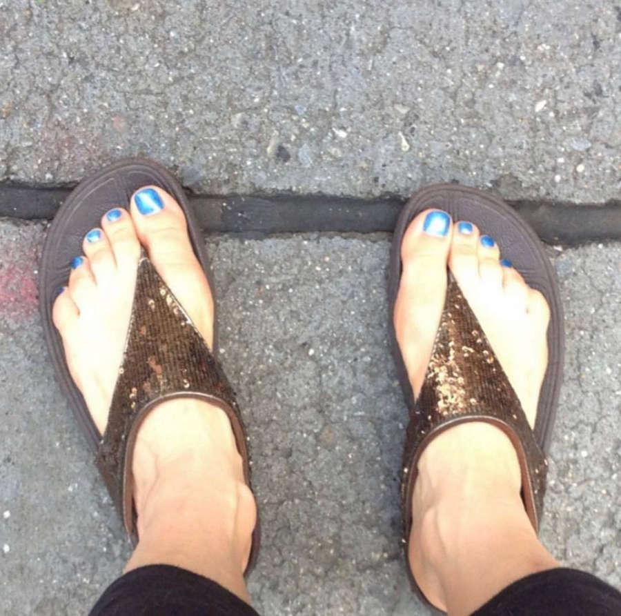 Tamsen Fadal Feet