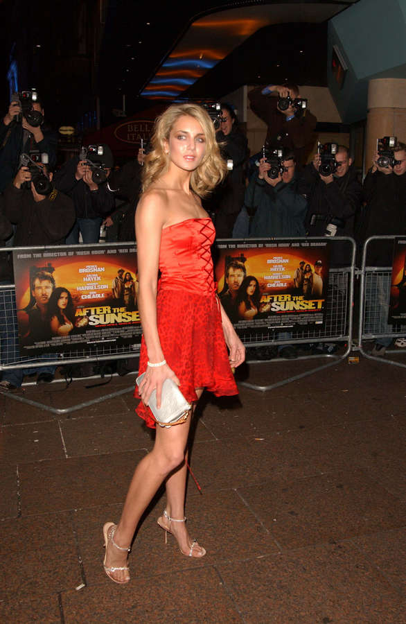 Isabella Hervey Feet