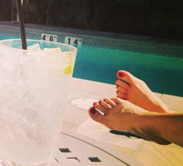 Lissette Padilla Feet