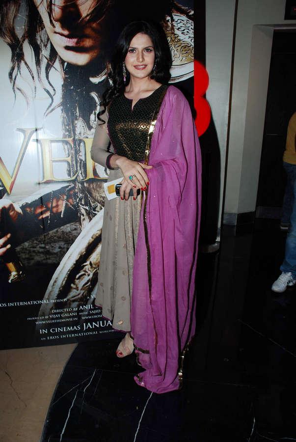 Zarine Khan Feet