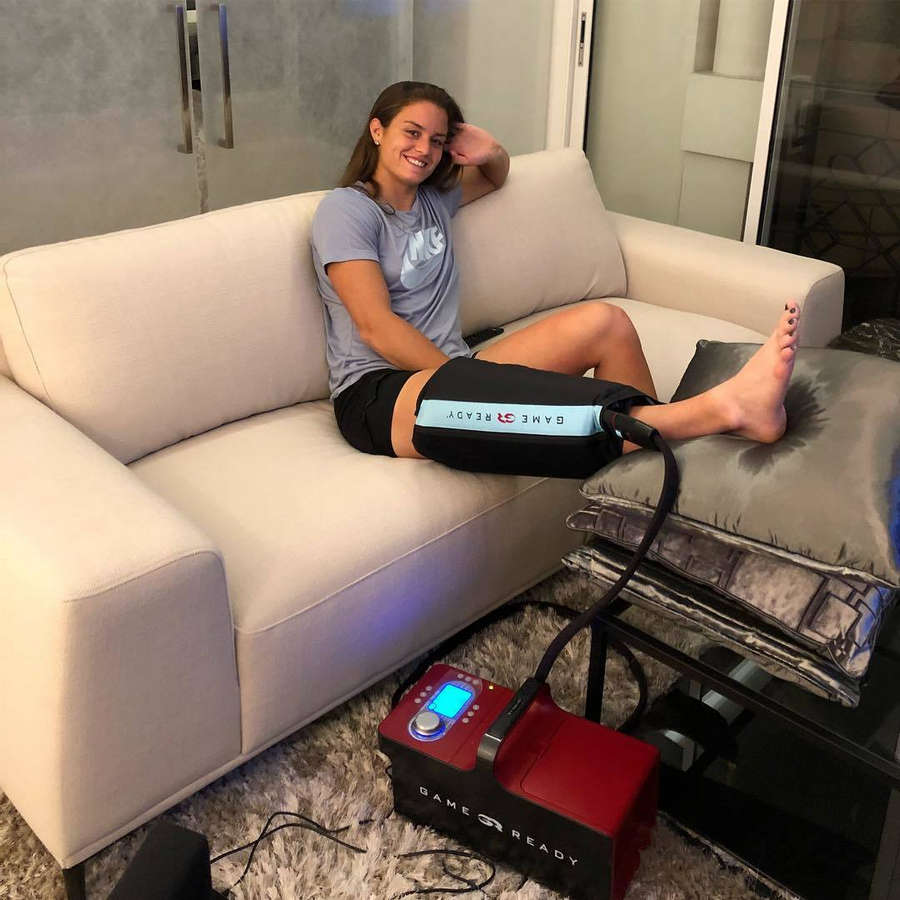 Maria Sakkari Feet