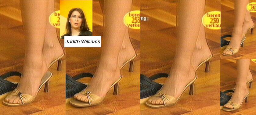 Judith Williams Feet