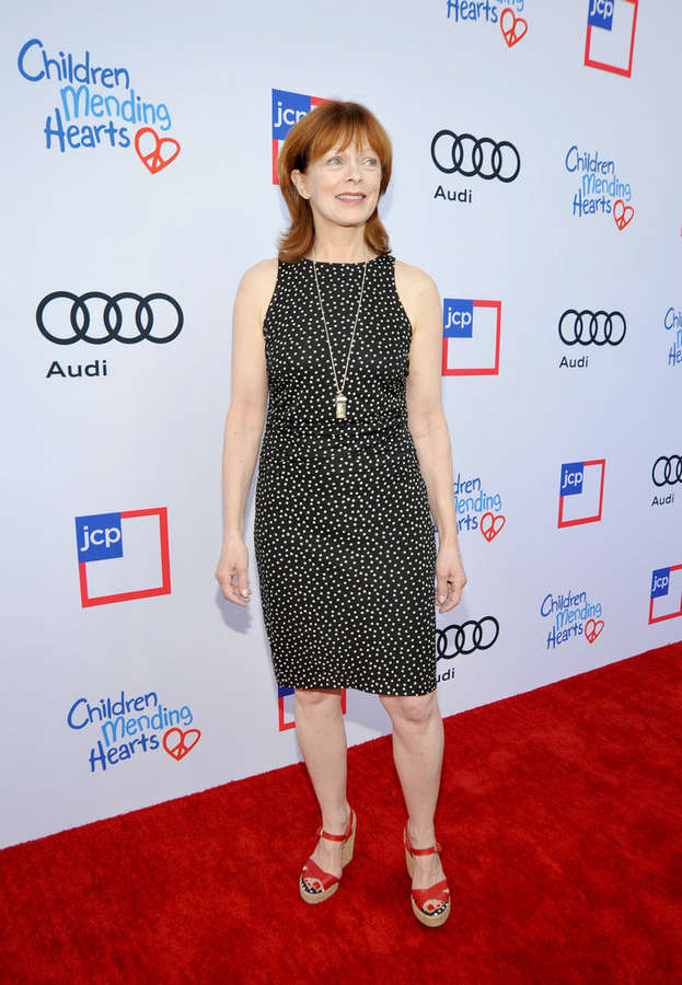 Frances Fisher Feet