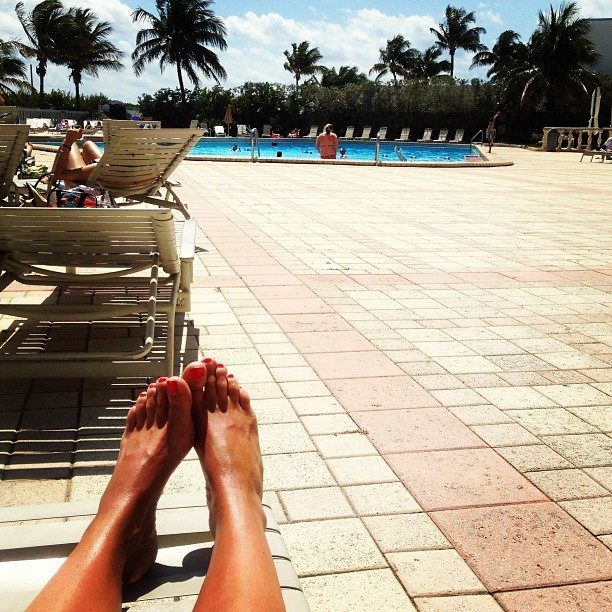 Jessica Andersson Feet