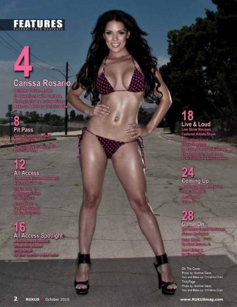 Carissa Rosario Feet