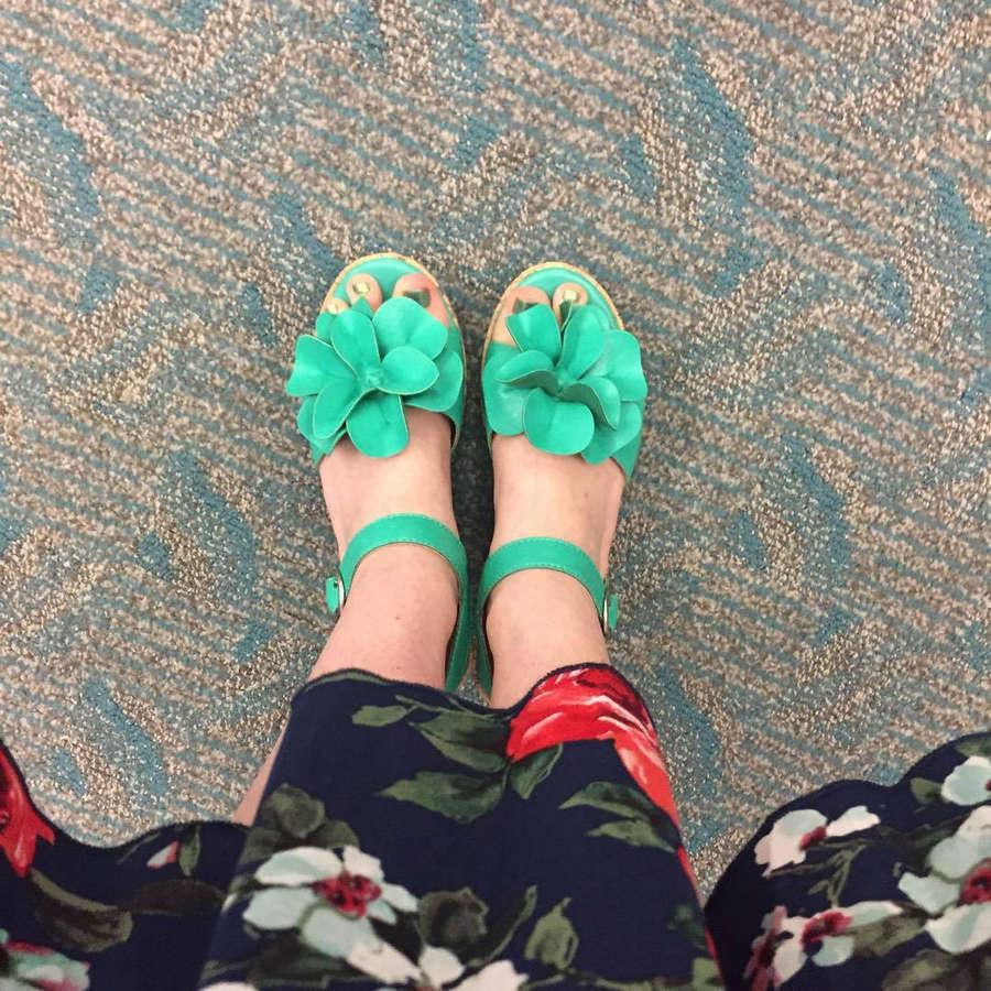 Darcy Rose Byrnes Feet