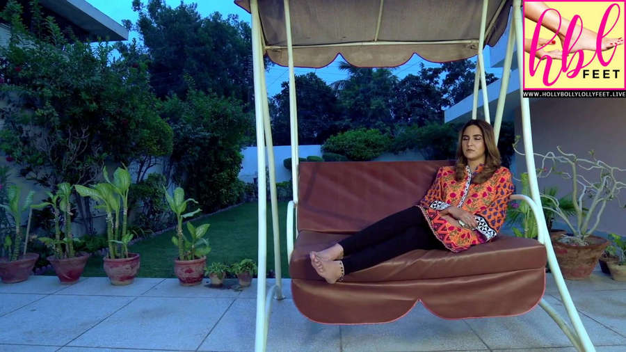 Anoushay Abbasi Feet