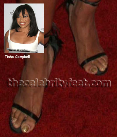 Tisha Campbell Martin Feet