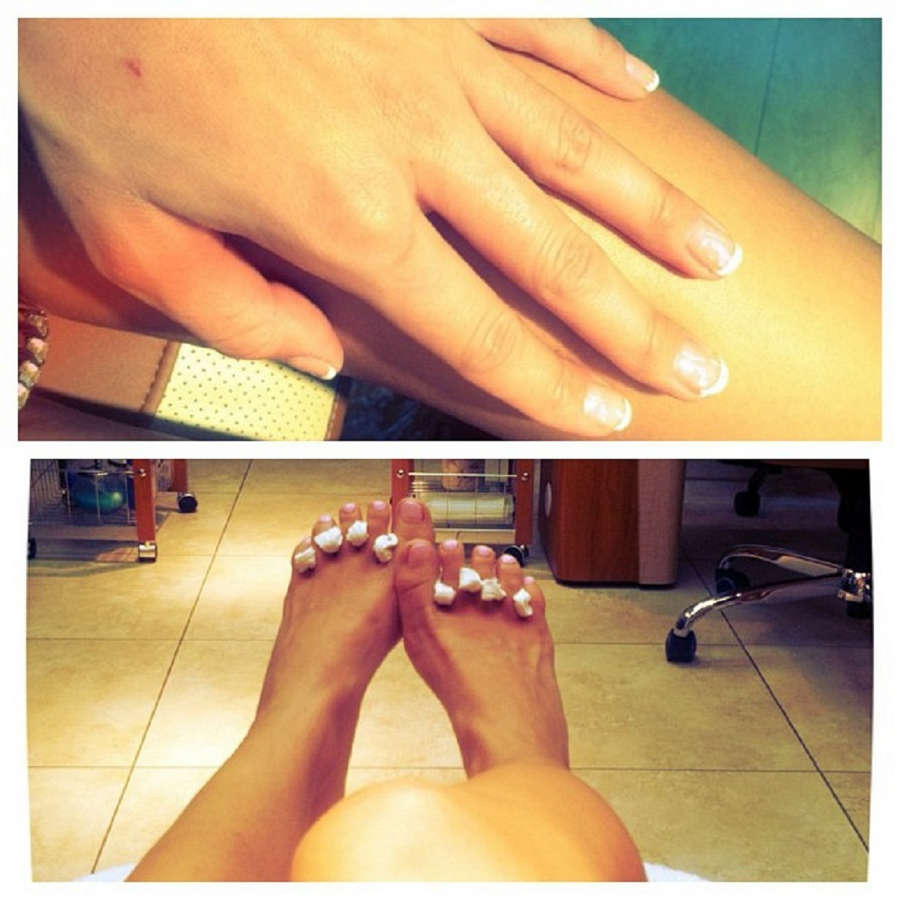 Antonella Barba Feet
