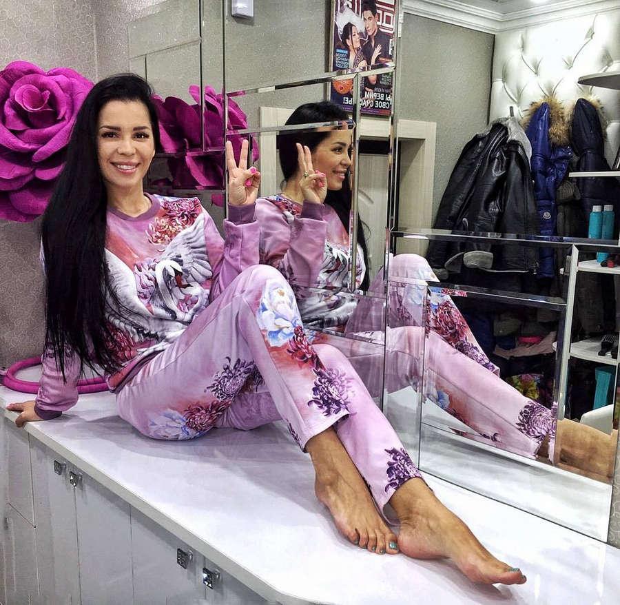 Yuliya Kolisnichenko Feet