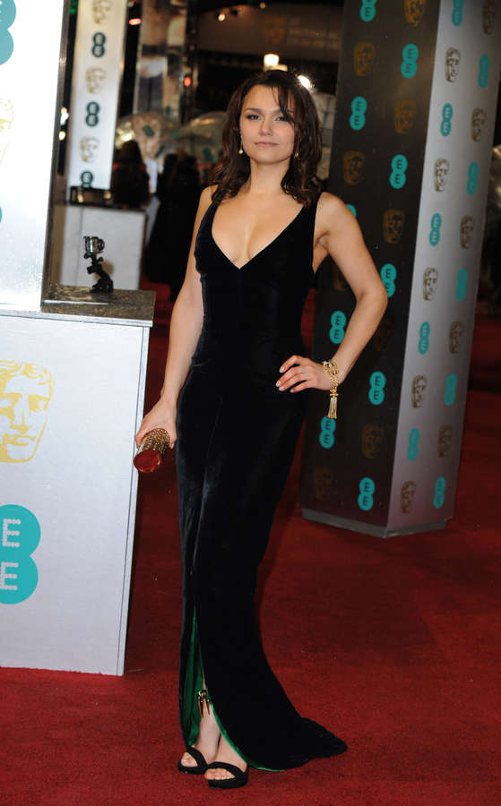 Samantha Barks Feet