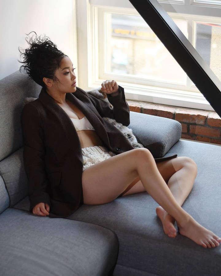 Lana Condor Feet