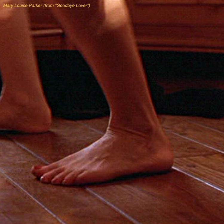Mary Louise Parker Feet