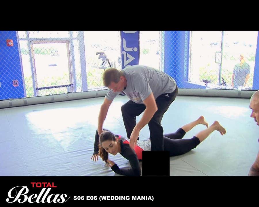 Brie Bella Feet