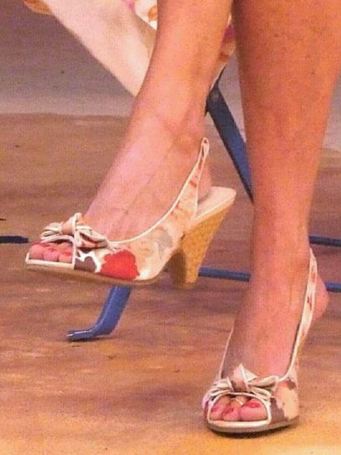 Dee Dee Rescher Feet