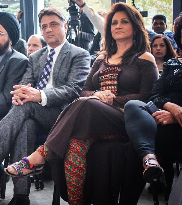 Bushra Ansari Feet