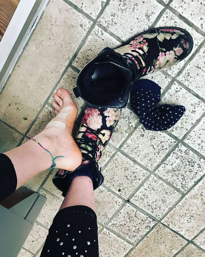 Sabrina Cereseto Feet