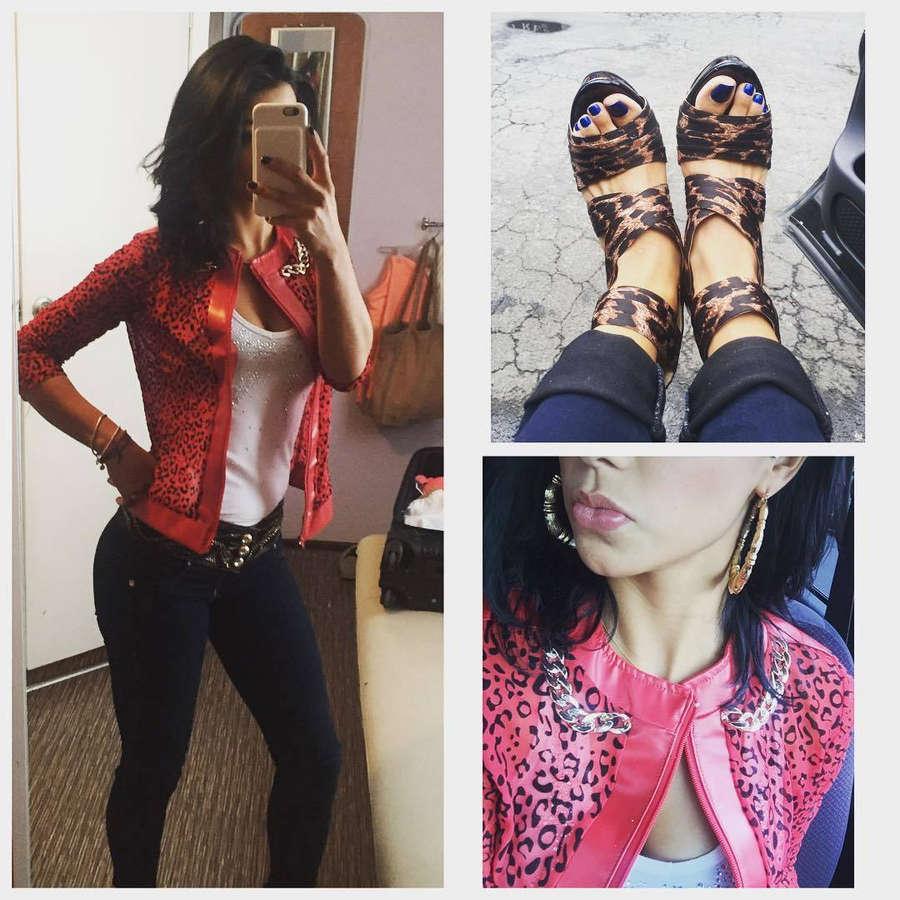 Maria Fernanda Quiroz Feet