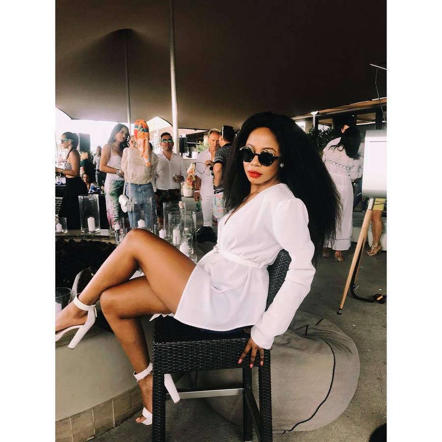 Kelly Khumalo Feet