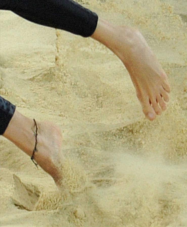 Marketa Slukova Feet