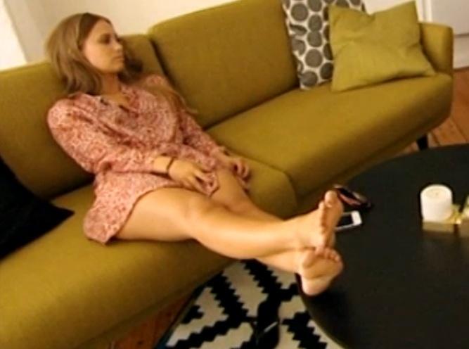 Agnes Carlsson Feet