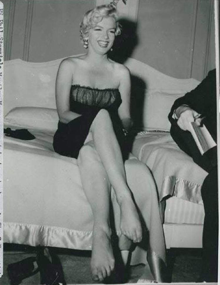 Marilyn Monroe Feet
