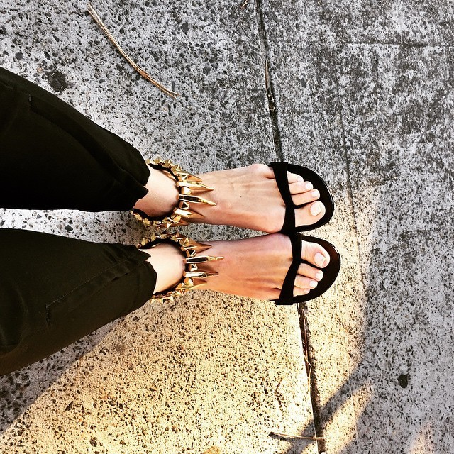 Lisa Clark Feet