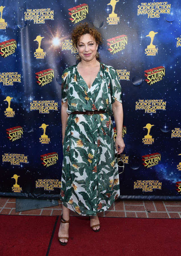 Alex Kingston Feet
