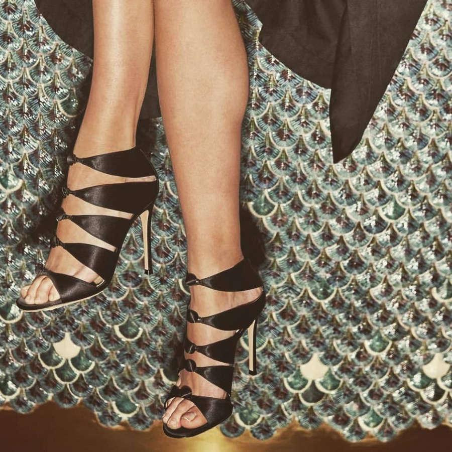 Aalia Oursbourn Feet