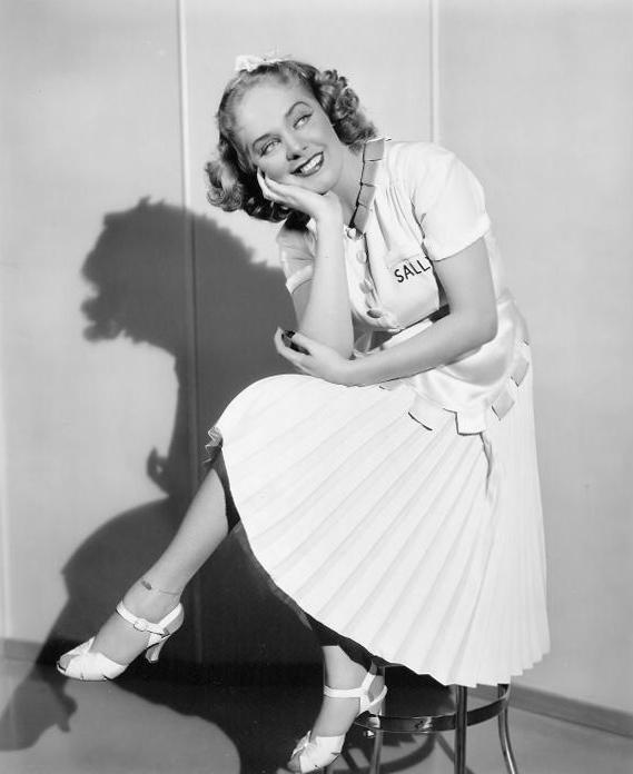Alice Faye Feet
