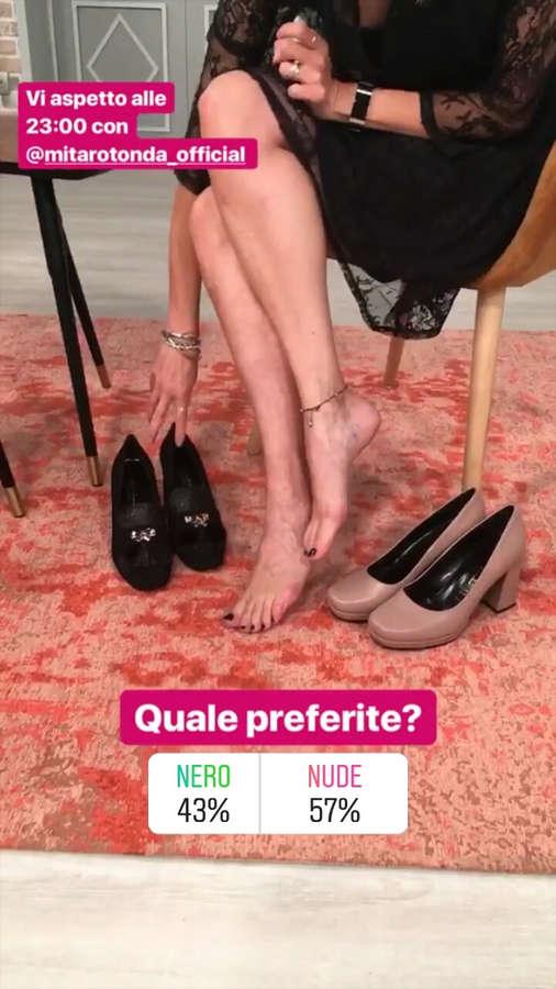 Teresa DAlessandro Feet