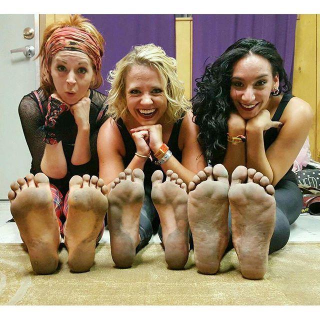 Addie Byers Feet