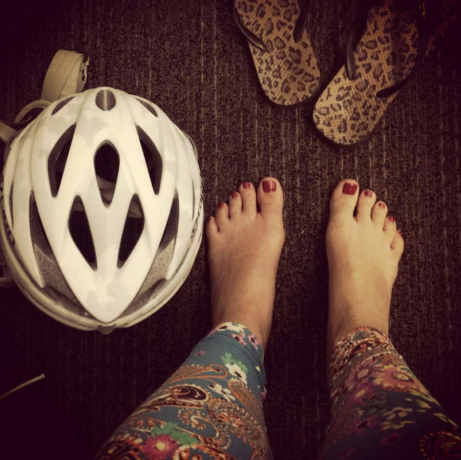 Samantha Gash Feet