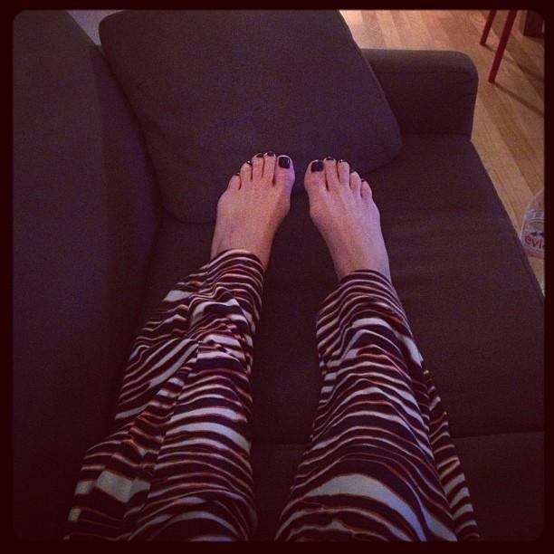 Laurel Pantin Feet