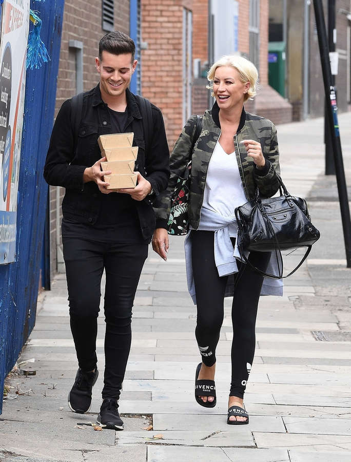 Denise Van Outen Feet