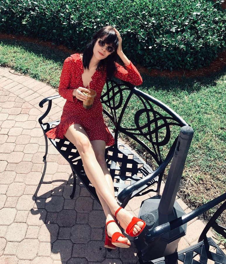 Meghan Collison Feet